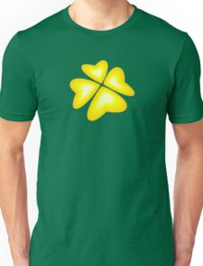 yellow heart flower Unisex T-Shirt