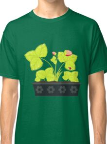 Strawberry in Flower Pot Classic T-Shirt