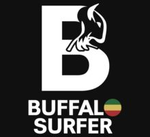 Buffalo Surfer B RASTA STK WHT Kids Clothes