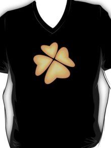 orange heart flower T-Shirt