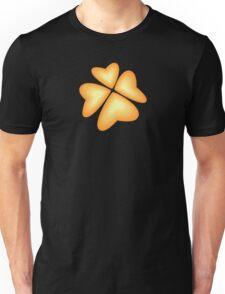 orange heart flower Unisex T-Shirt