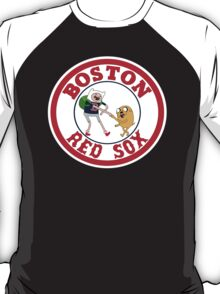 Boston red sox Adventure time T-Shirt