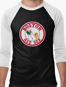 Boston red sox Adventure time Men's Baseball ¾ T-Shirt