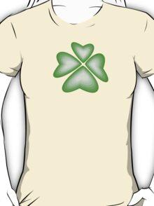 green heart flower T-Shirt