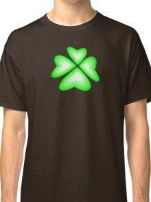 green heart flower Classic T-Shirt