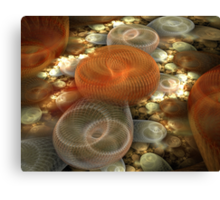 The Slinky Graveyard Canvas Print