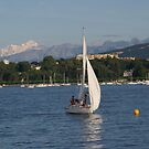 Sailing on Lake Geneva by Nixter