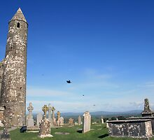 Rock of Cashel round tower by John Quinn