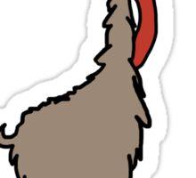 Llama Del Rey Sticker