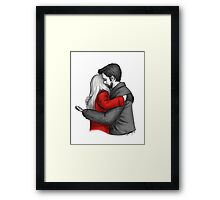 Here For You Framed Print