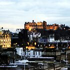 Edinburgh Skyline by Linda More