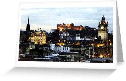 Edinburgh Skyline by ljm000