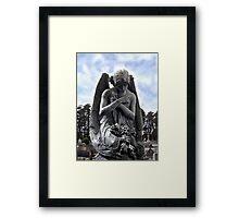 Angel in the Morning Framed Print