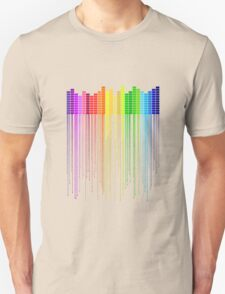 Colorful Music Equalizer T-Shirt