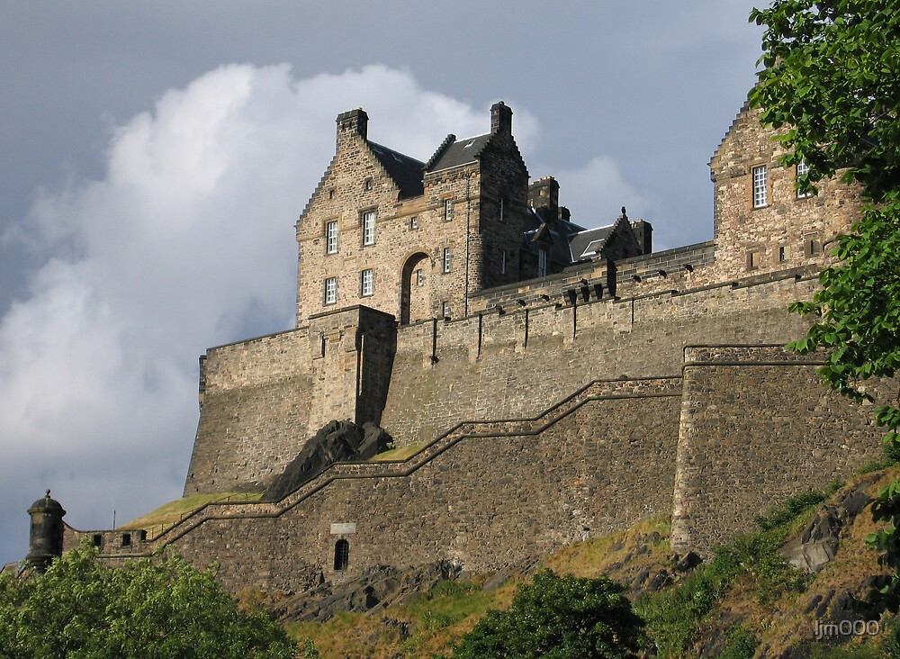 Edinburgh Castle by ljm000