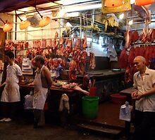 Hong Kong Meat Market by BenE
