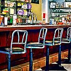 Candy Store With Soda Fountain by Susan Savad