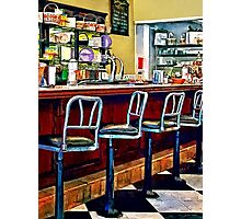 Candy Store With Soda Fountain Photographic Print