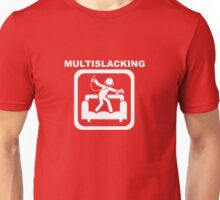 Multislacking - White Unisex T-Shirt