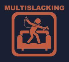Multislacking - Orange Kids Tee