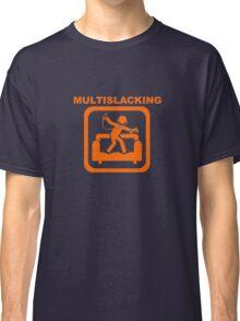 Multislacking - Orange Classic T-Shirt
