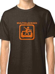 Multislacking - Orange Classic T-Shirt