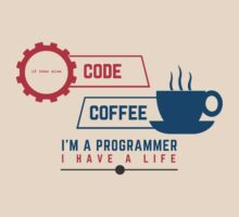 programmer : coffee and code by dmcloth