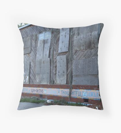 Speak and Create a World Throw Pillow