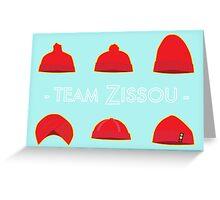 Hats of Team Zissou Greeting Card
