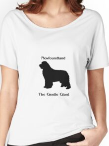 Newfoundland The Gentle Giant Women's Relaxed Fit T-Shirt