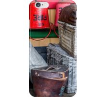 Fire buckets and hampers iPhone Case/Skin