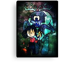 Don't Starve Willow and Deerclops Canvas Print