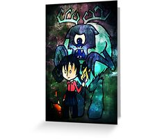 Don't Starve Willow and Deerclops Greeting Card