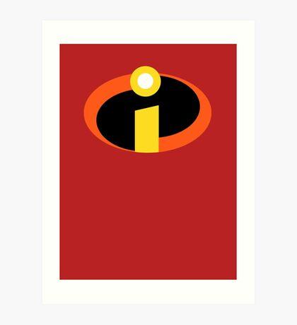The Incredibles Pixar Mr Incredible: Art Prints