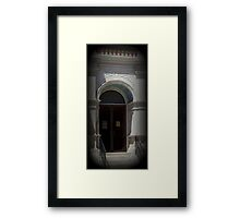 The Door Will Be Opened Framed Print