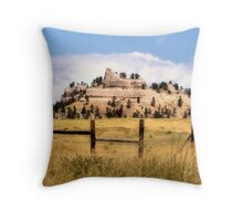 Nebraska Sky Throw Pillow
