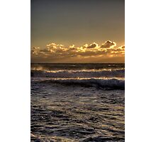 As the sun sets...... Photographic Print