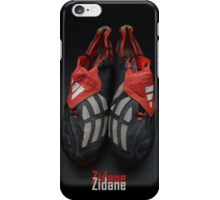Zidane Futbol Shoes iPhone Case/Skin