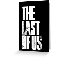 The Last of Us II Greeting Card