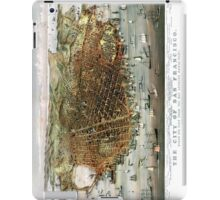 San Francisco - California - United States - 1878 iPad Case/Skin