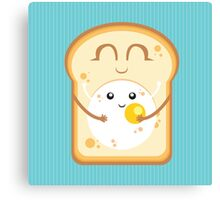 Hug the Egg Canvas Print