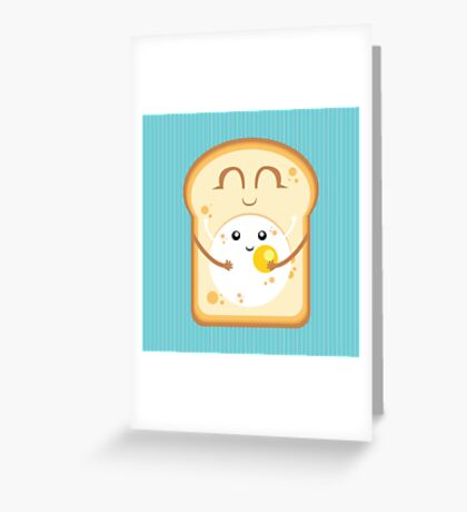 Hug the Egg Greeting Card