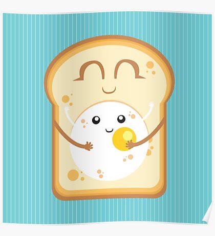 Hug the Egg Poster