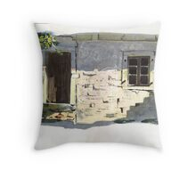 The Weavers Cottage, Paxos Throw Pillow