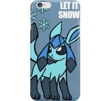 PKMN Let It Snow iPhone Case/Skin