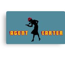 Detective Carter. Canvas Print
