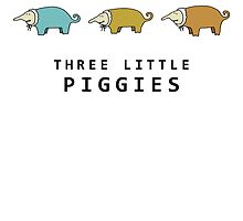 Three Little Piggies by povalyaeva