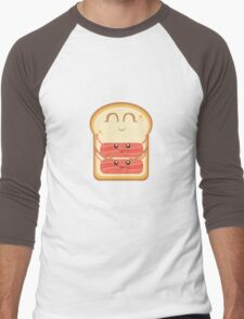 Hug the Bacon Men's Baseball ¾ T-Shirt