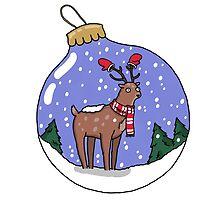 Holiday Deer by alexcallard