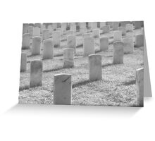 Veterans Day - Thank and Honor Greeting Card
